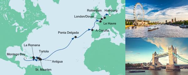 AIDA Pauschal Angebot Von Jamaika nach Hamburg 3