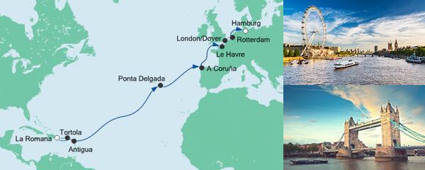 AIDA Pauschal Angebot Von der Dominikanischen Republik nach Hamburg 3