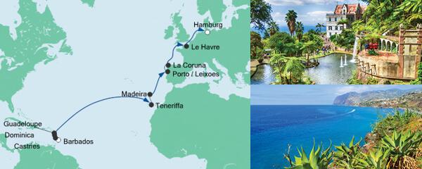 Von Barbados nach Hamburg 2