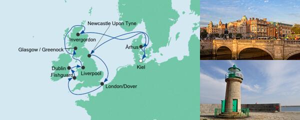 Großbritannien & Irland mit Newcastle