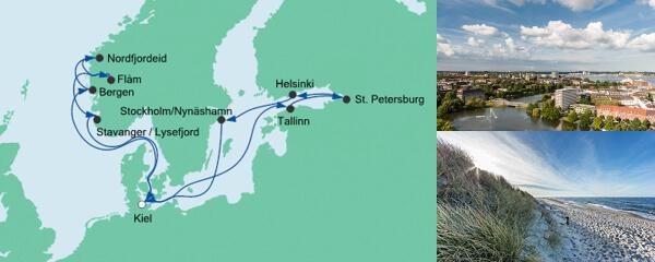 AIDA Seetours Angebot Norwegen & Ostsee 1