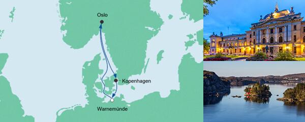 AIDA VARIO Kurzfristverkauf Kurzreise nach Norwegen