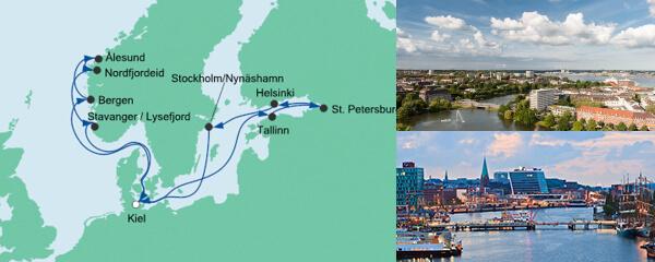 AIDA Seetours Angebot Norwegen & Ostsee 2