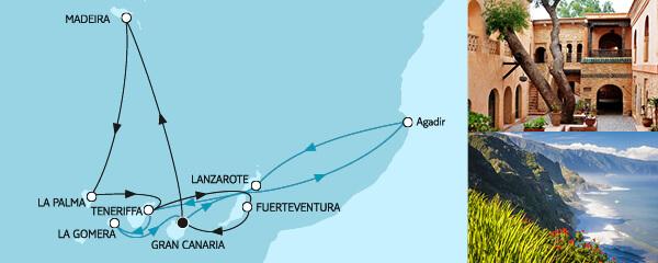 14 Tage Kanaren mit Madeira III & Lanzarote