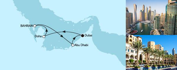 7 Tage Dubai mit Katar