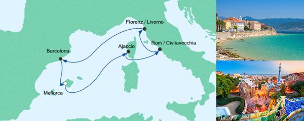AIDA Spezialangebot Perlen am Mittelmeer 1