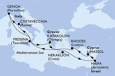 11 Tage Mittelmeer
