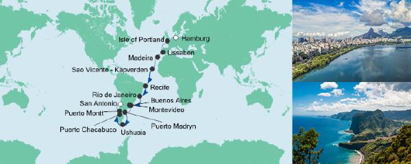Von Hamburg nach San Antonio