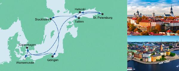 Ostsee ab Warnemünde 4