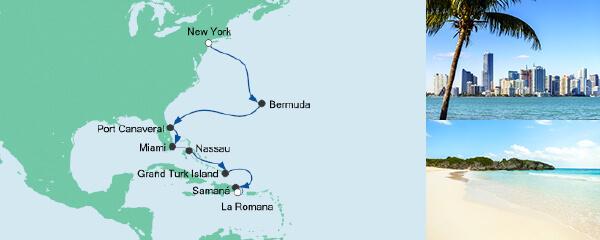 AIDA Seetours Angebot Von New York in die Dominikanische Republik 1