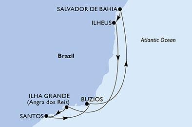 7 Tage Südamerika