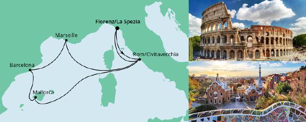 Mediterrane Schätze ab La Spezia