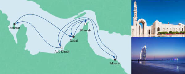 AIDA Angebot Große Orient-Reise 1
