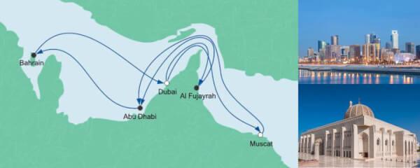 AIDA Angebot Große Orient-Reise 2