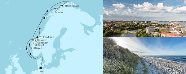 11 Tage Norwegen mit Nordkap & Geirangerfjord
