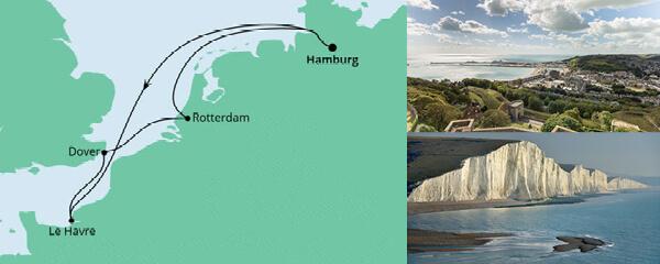 AIDA Seetours Angebot Metropolen ab Hamburg 2