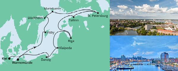 AIDA Seetours Angebot Ostsee-Rundreise 1