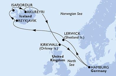 11 Tage Nordeuropa
