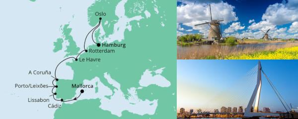 Von Mallorca nach Hamburg 1