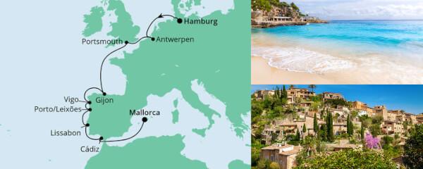 Von Hamburg nach Mallorca 1