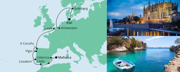 Von Mallorca nach Kiel 1