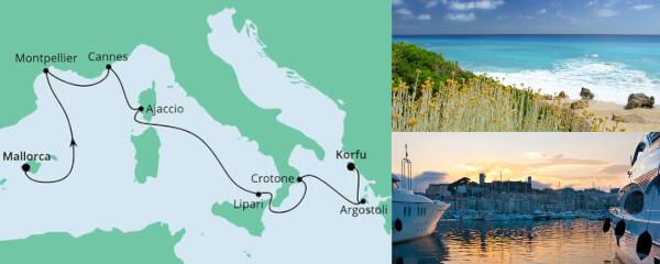 Von Mallorca nach Korfu 1