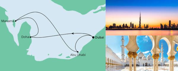 Routenverlauf Orient ab Dubai 2 am 27.11.2021