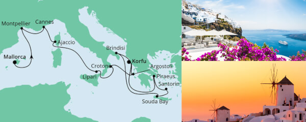Von Mallorca nach Korfu 2