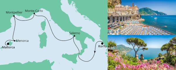 Von Korfu nach Mallorca 1