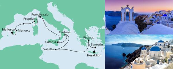 Von Mallorca nach Kreta 1