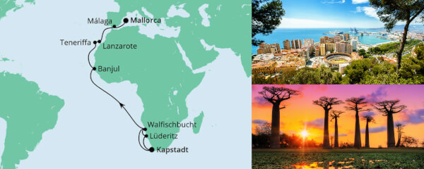 Von Kapstadt nach Mallorca 2