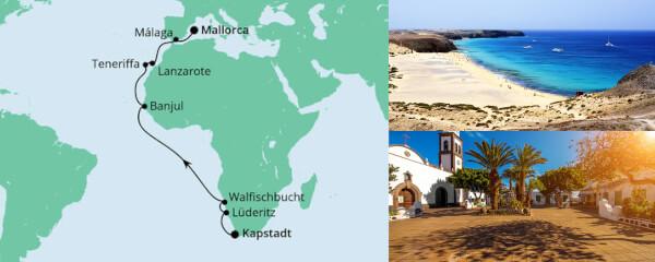 Von Kapstadt nach Mallorca 1