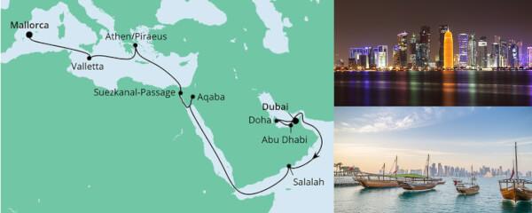Von Dubai nach Mallorca 3