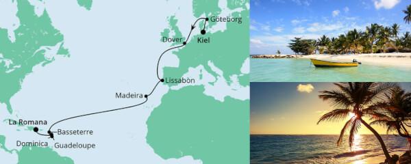 Von Kiel in die Dom. Republik