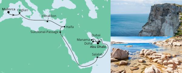 Von Mallorca nach Abu Dhabi 2