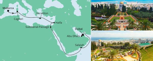 Von Mallorca nach Dubai 5