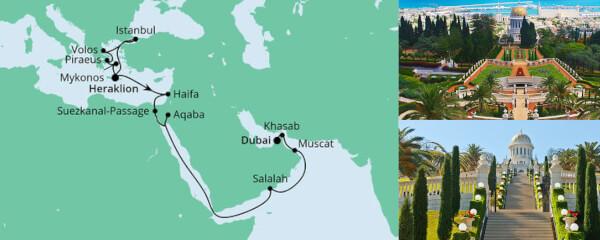Von Kreta nach Dubai 2