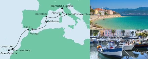 Von La Spezia nach Gran Canaria