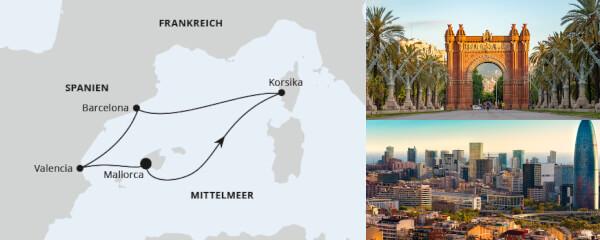 Routenverlauf Frühling am Mittelmeer 2 am 11.05.2021