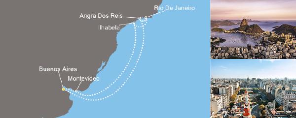Routenverlauf Sonniges Rio am 21.01.2019