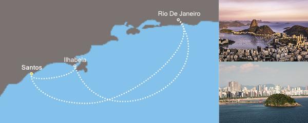 Routenverlauf Sonniges Rio am 02.01.2019