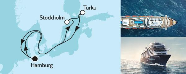 7 Tage Blaue Reise - Panoramafahrt 1 mit der Mein Schiff 2