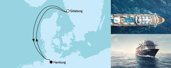 4 Tage Blaue Reise 2 mit der Mein Schiff 2