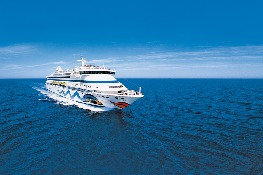 Von Mallorca nach Hamburg mit AIDAvita