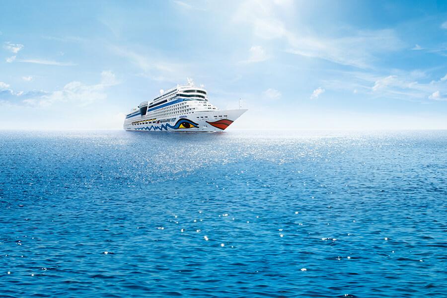 Von den Seychellen nach Kreta mit AIDAblu