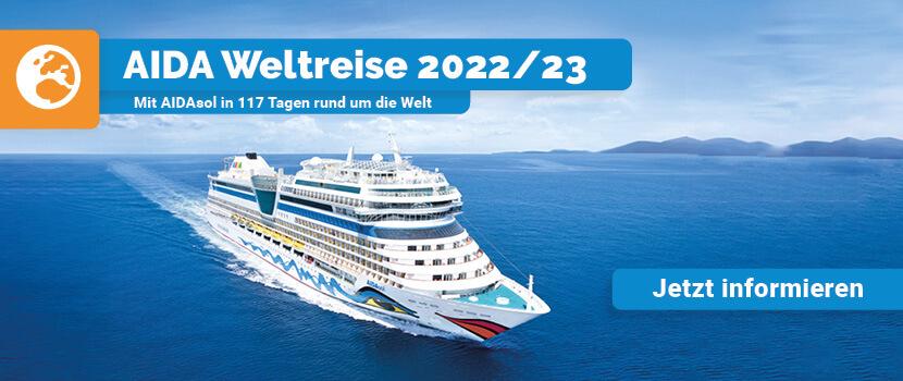 AIDA Weltreise 2022