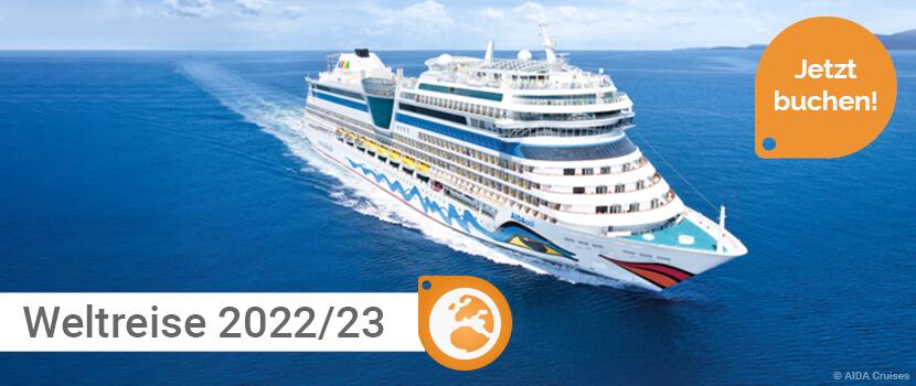 AIDA Weltreise 2021-22