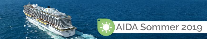 AIDA Sommer 2019 Themenwelt EURESAreisen