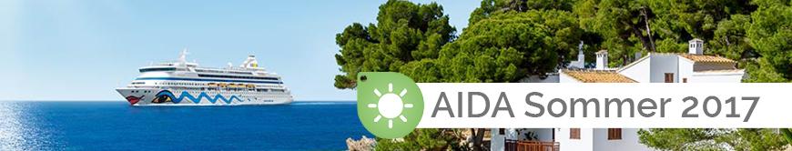 AIDA Sommer 2017 Themenwelt EURESAreisen