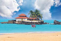 Impression aus Karibik